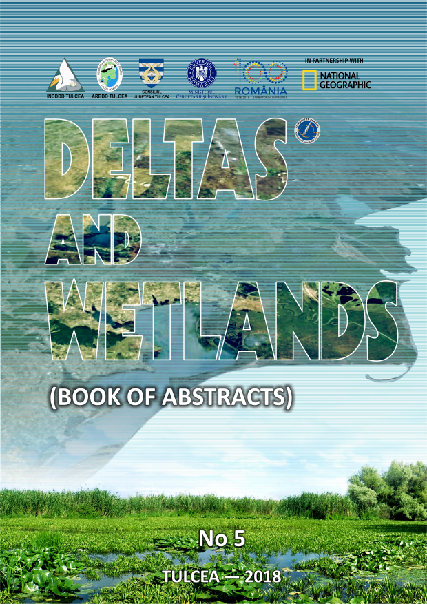 Cover of DELTAS AND WETLANDS (Book of abstracts)